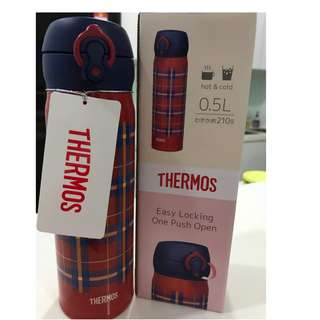 Genuine Thermos Brand Premium Collection Pink And Mint Green