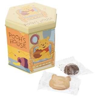 🇯🇵日本代購 迪士尼 Disney 小熊維尼 Winnie the Pooh 鐵罐 曲奇 朱古力