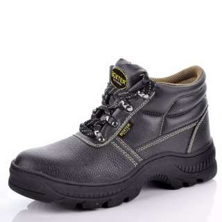 ULTRA LIGHT WEIGHT RUBBER SOLE SAFETY SHOES (Size: UK 3-13 / EURO 37-47)