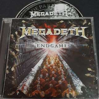 megadeth (end game) cd metal brand new