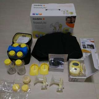 Medela Freestyle Double Electric 2 Phase Breast Pump