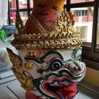 Thai Hanumarn kop sen amulet barang