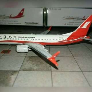 SHANGHAI AIRLINES BOEING 737 MAX 8 1:400