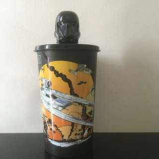 Star Wars Vehicle Tumbler w/ Death Trooper Cover from 7-11