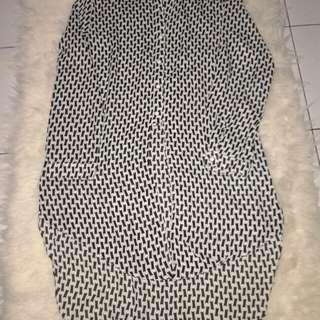 Chiffon Monochrome  Long Dress