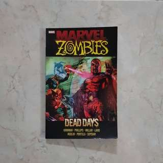 Marvel Zombies: Dead Days (Marvel Graphic Novel TPB), selling really cheap! [slight creases on front cover bottom right; inside condition very good]