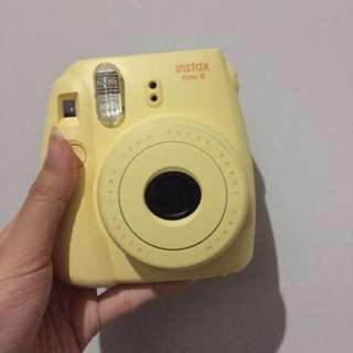 Instax mini 8s yellow