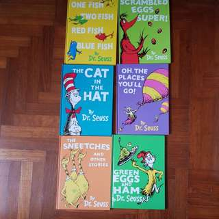 Dr Seuss's classics - 6 hardcover books with box