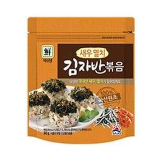 現貨│SAJO海苔酥(海鮮) 韓國 思潮 海苔鬆 炒海苔 伴飯 韓式海苔-效期2018.12.05