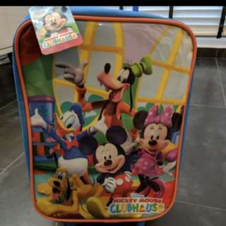 Mickey Mouse kid luggage