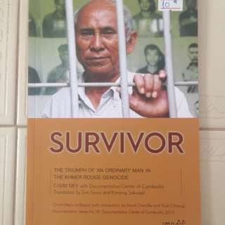 Chum Mey, a survivor in the Khmer Rouge Genocide