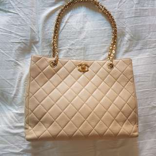 Chanel Beige Shoulder Bag [Vintage]