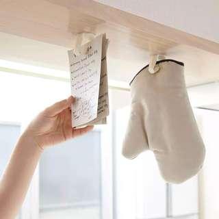 廚房黏膠掛勾 吊頂廚柜收納 浴室無痕免釘强力貼