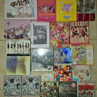 Snsd twice gfriend red velvet korea album