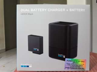 Dual Battery Charger + Battery