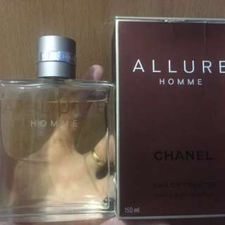 Chanel allure Pour homme purchased from macys 150ml less 10ml