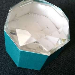 Wedding ring box/ glass