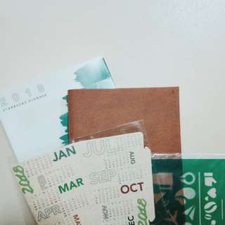 Starbucks Planner w/ Vinta Card