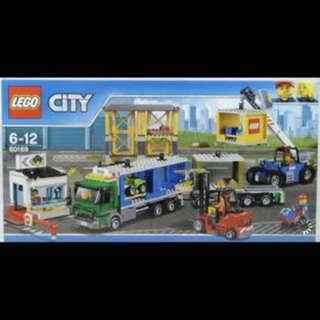 LEGO cargo terminal 60169 全新正貨