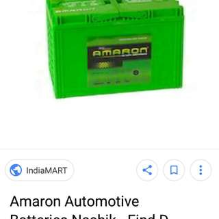Car battery delivery amaron