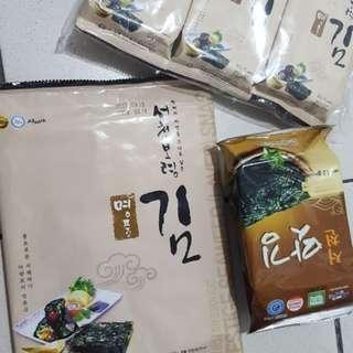 KOREAN KIM NORI/ SEAWEEDS