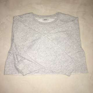 ZARA Oversized Cropped Sweatshirt