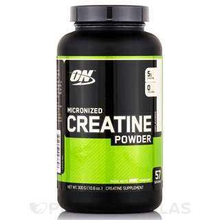 ON CREATINE POWDER UNFLAVORED 300 GRAMS - COD FREE SHIPPING