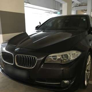 BMW 520I rental for events