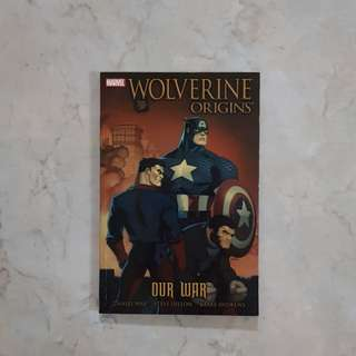Wolverine Origins: Our War (Marvel Graphic Novel TPB)