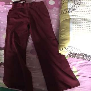 Celana panjang kulot jrep