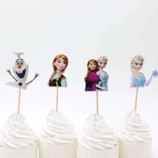 Frozen Cupcake topper