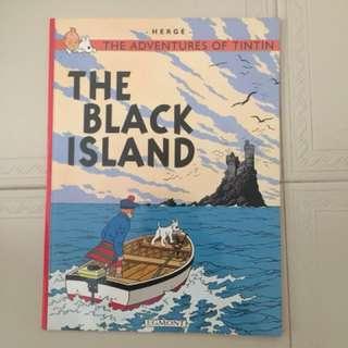 Tintin (The black Island)