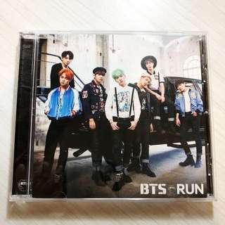 Official BTS RUN Japanese Album CD