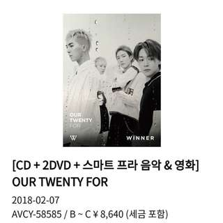 Winner Our Twenty For Japan vers