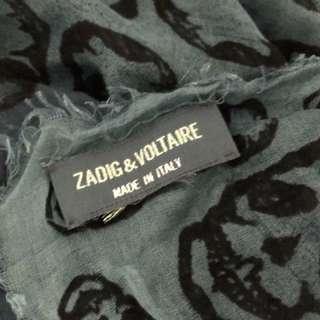Zadig & Voltaire Skull Scarf