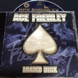 Ace frehley (loaded deck) cd rock - ex-kiss guitarist solo album