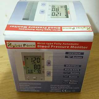 美牌xyberforce-輕便血壓機,99%新,原價488