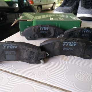 TRW brake pads for Perodua Axia