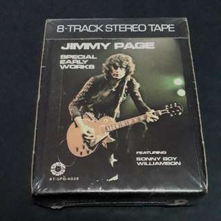 led zeppelin Jimmy page 8 track tape - very rare vintage collection