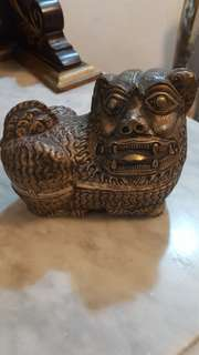 Animal - tiger like metalic container
