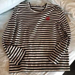 Authentic CDG Play size XL