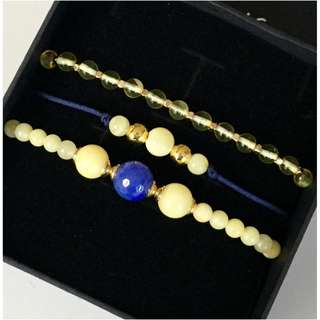 "Set of three bracelet's ""Blue"""
