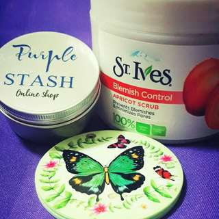 TAKAL St. Ives Apricot Scrub and St. Ives Collagen Elastin Moisturizer