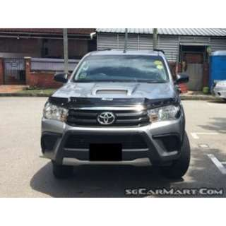 TOYOTA HILUX DOUBLE CAB TURBO PICKUP 2WD MT