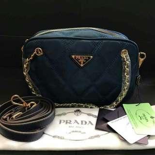 Prada chain sling bag