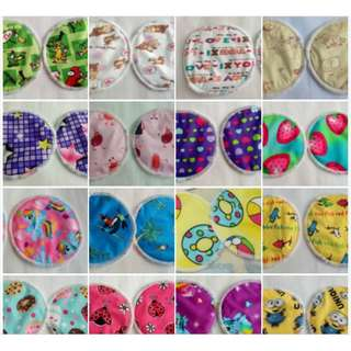 DISCOUNTED! CLOTH NURSING PADS & WASH BAGS!
