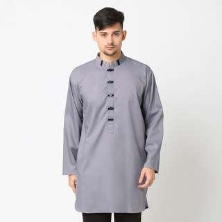 Baju Gamis Muslim Ahsan - Abu