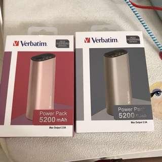 Verbatim5200充電器