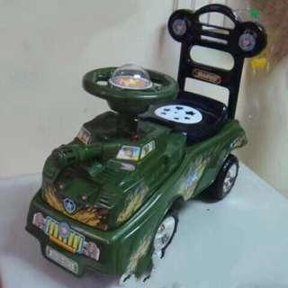 Mini Car Tank with Lights & Sound