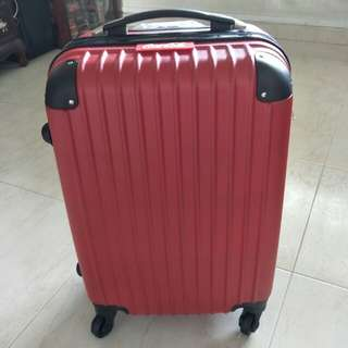 Coca cola cabin luggage 22""